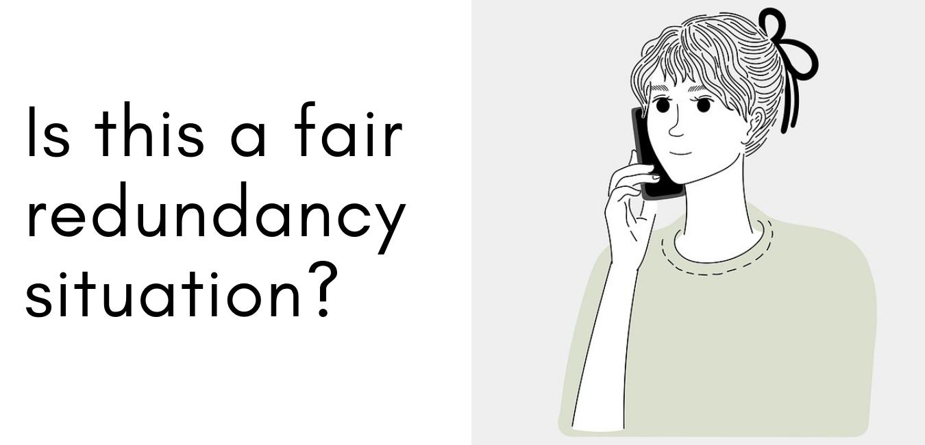 unfair-redundancy